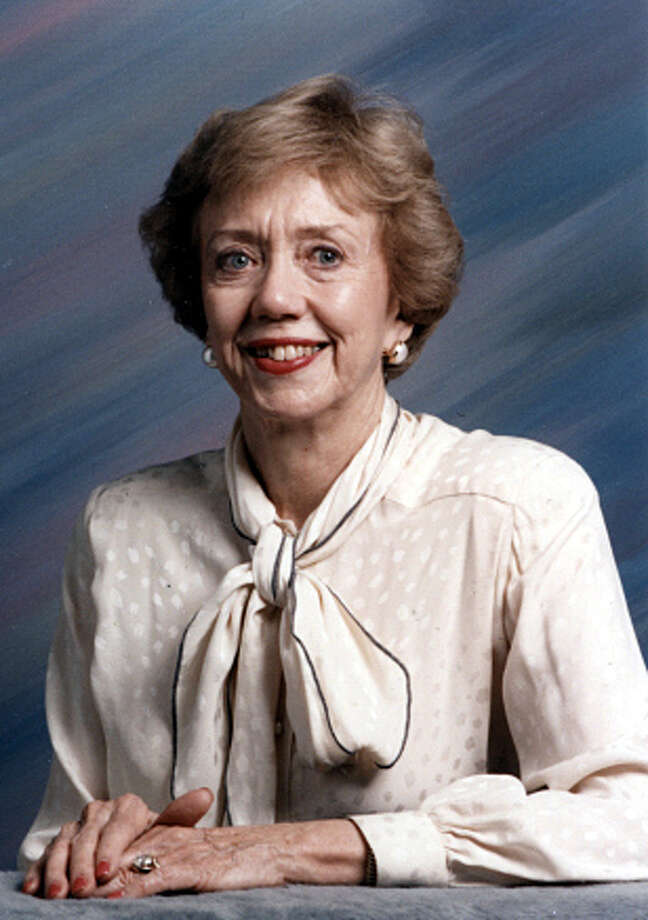 Priscilla Flawn was the wife of Peter Flawn, first president of UTSA and twice president of UT Austin. Photo: Courtesy / Courtesy