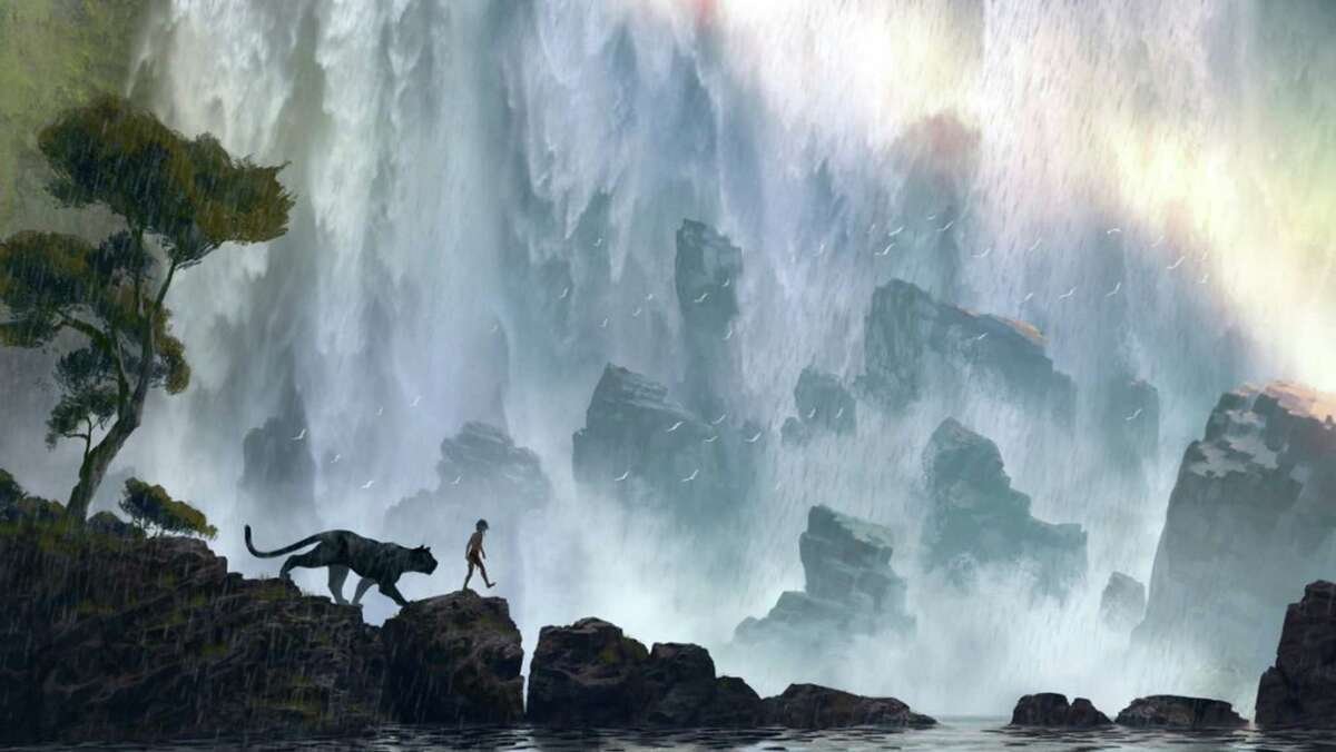 "A still from Disney's ""The Jungle Book."" (Disney)"