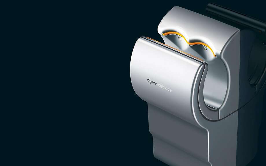 A Dyson Airblade hand dryer for  public restrooms. Photo: Dyson