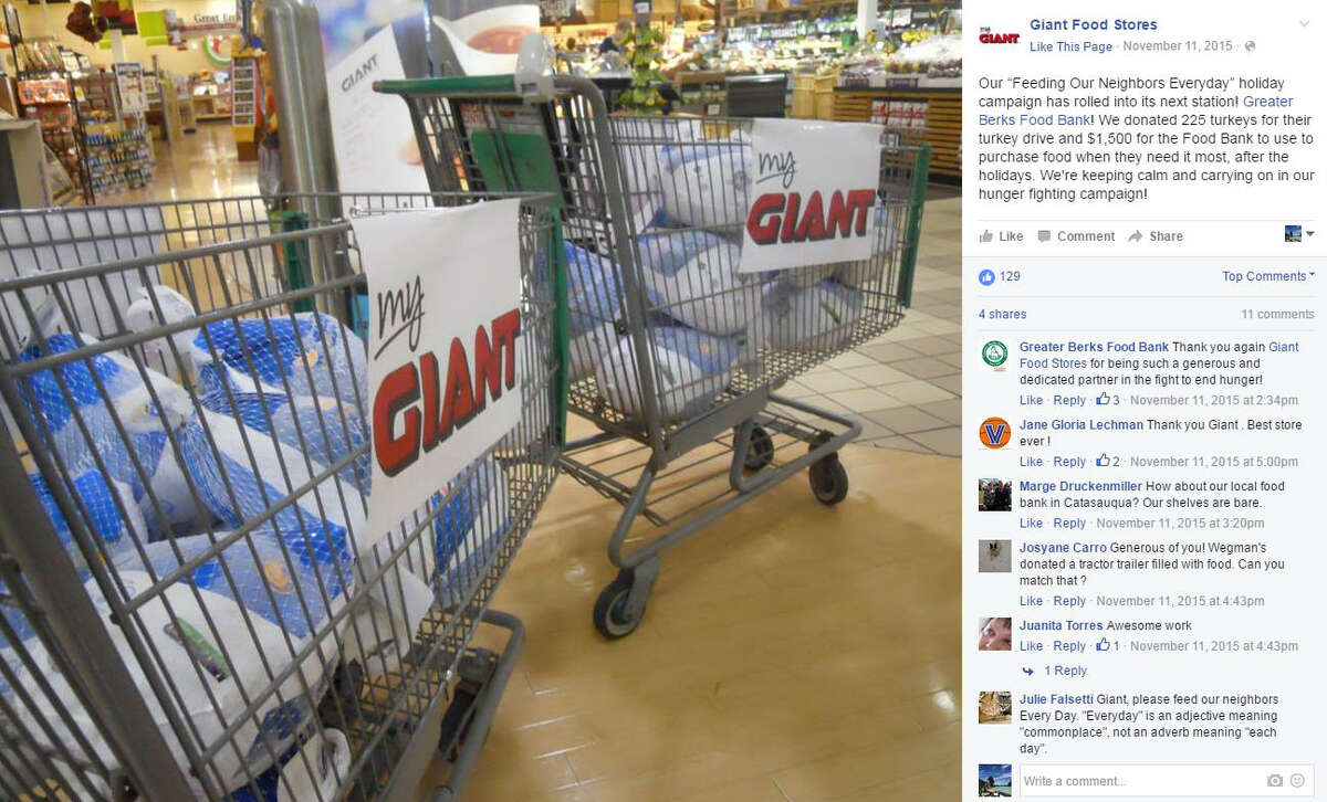 """Giant Food Stores Rank: 20 Number of stores: Over 150 (per BusinessInsider.com) Fun fact: """"Giant says it's introducing tall, gray robots with """"googly eyes"""" named Marty into dozens of its stores, to patrol the aisles looking for out-of-stock items and reporting spills and other potential shopper hazards."""""""