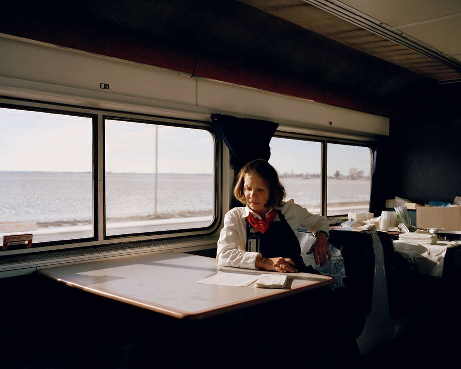 """From the series """"In Search of Great Men,"""" taken aboard long-distance Amtrak trains Photo: McNair Evans"""