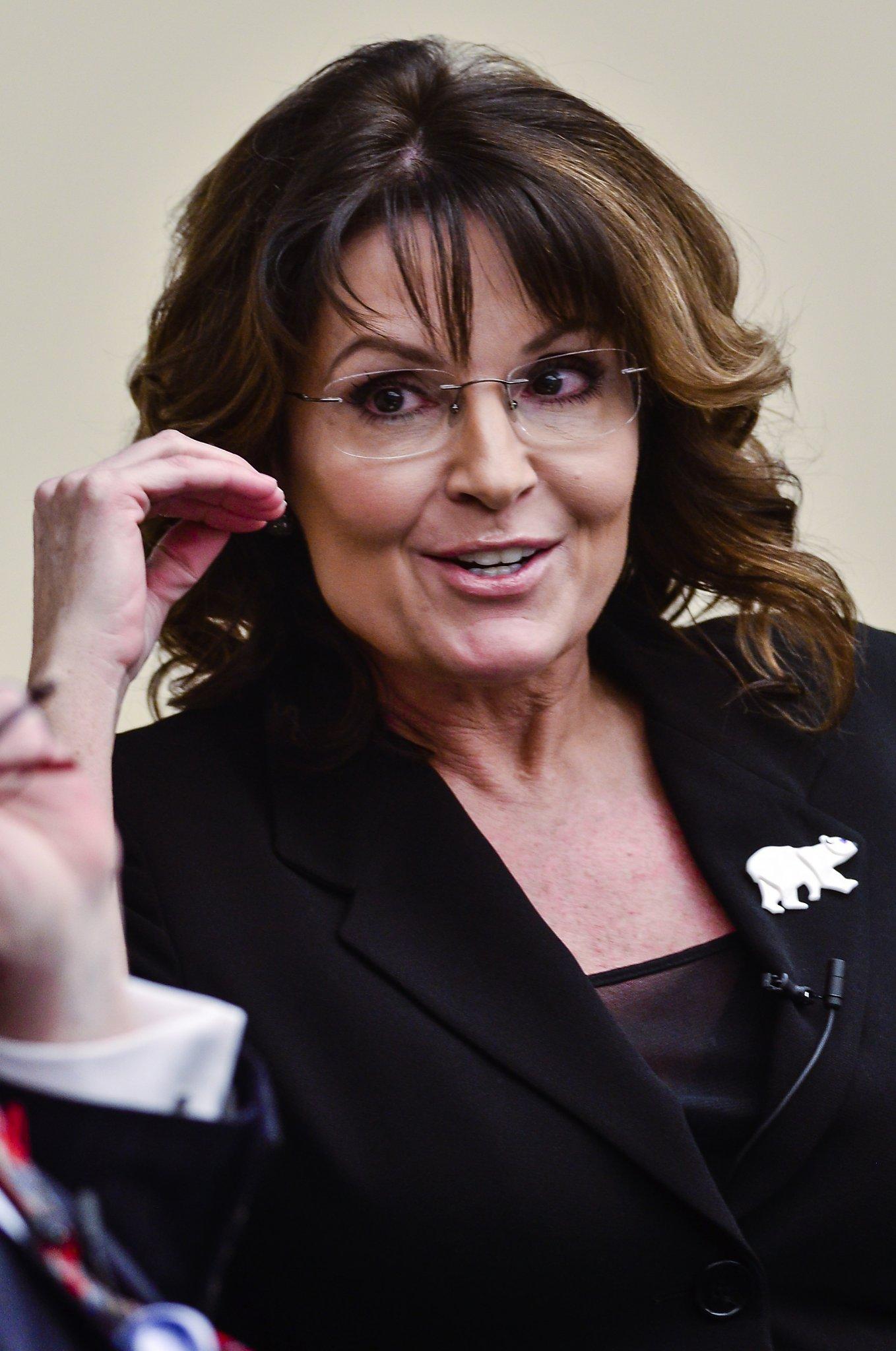 Sarah Louise Palin IPA ˈpeɪlɨn født Heath 11 februar 1964 i Sandpoint i Idaho er en amerikansk republikansk politiker Hun var guvernør i delstaten