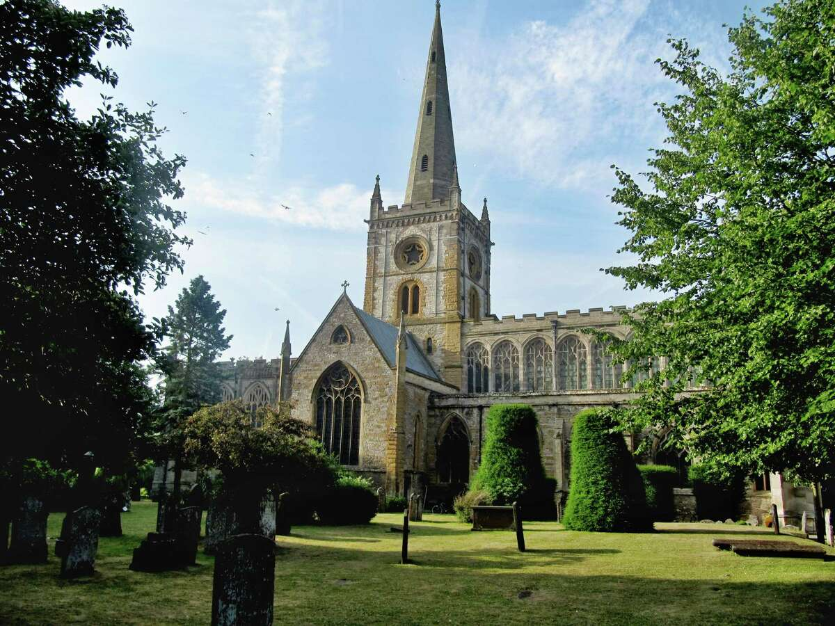 Holy Trinity Church, Stratford-upon-Avon, where William Shakespeare is buried.