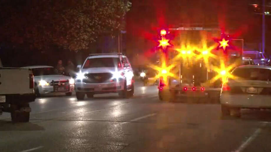 Two University of Houston students were injured, one critically, early Friday morning when a pickup truck rammed into them as they walked on a sidewalk near campus. (April 2016)Photo: Metro Video