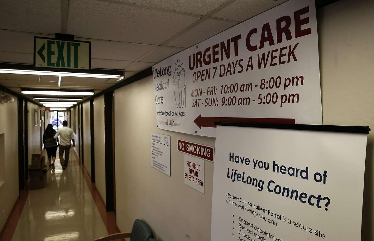 The LifeLong Medical Care an urgent care clinic in San Pablo, California on Thurs. April 14, 2016, is operating across the street from the Doctors Medical Center hospital which closed down a year ago.