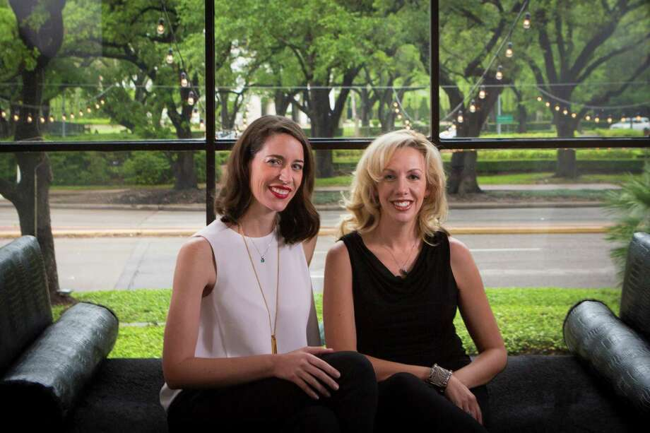Carolyn Rodz, left, and Elizabeth Gore are the co-founders of Houston-based artificial intelligence company Alice. Photo: Marie D. De Jesus, Staff / © 2016 Houston Chronicle