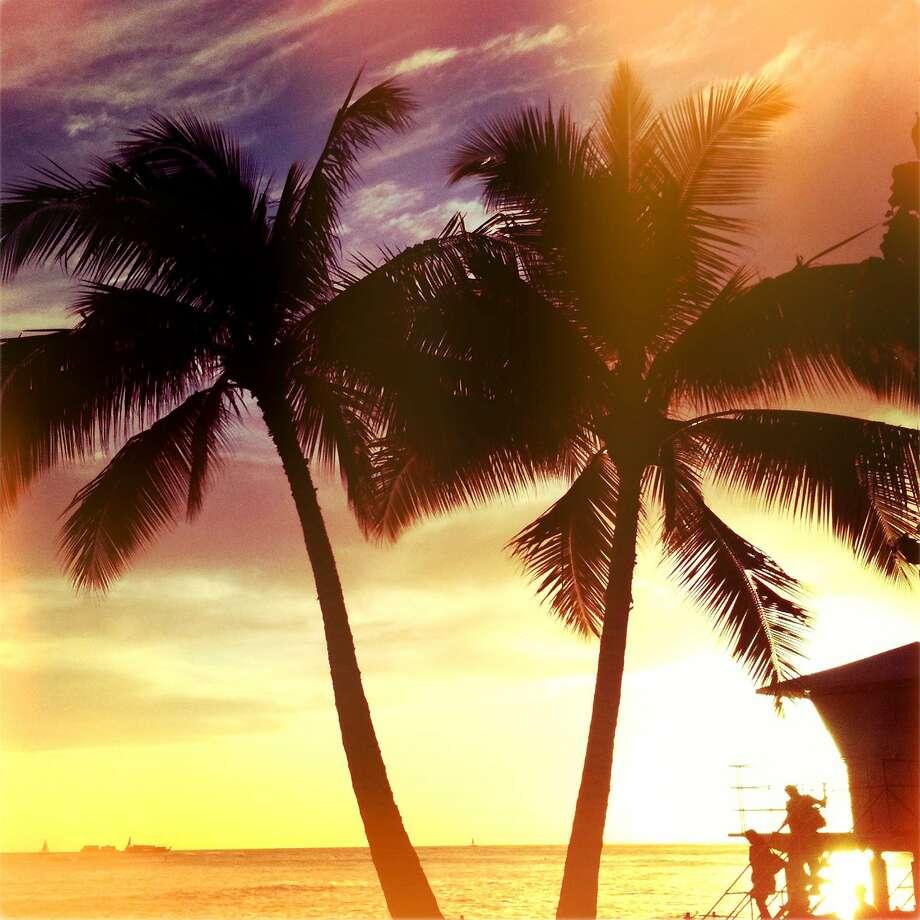 Waikiki sunset Photo: Getty Images