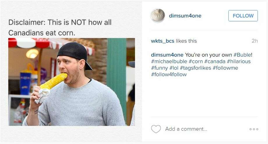 920x920 social media slams singer michael bubl� for eating corn on the cob,Michael Buble Memes