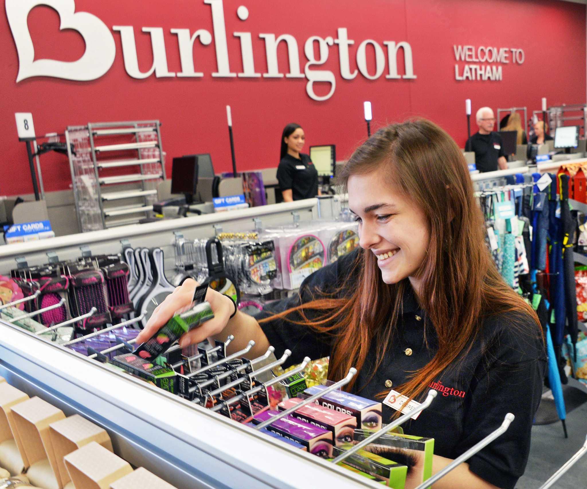 burlington opens at shoppes at latham circle times union