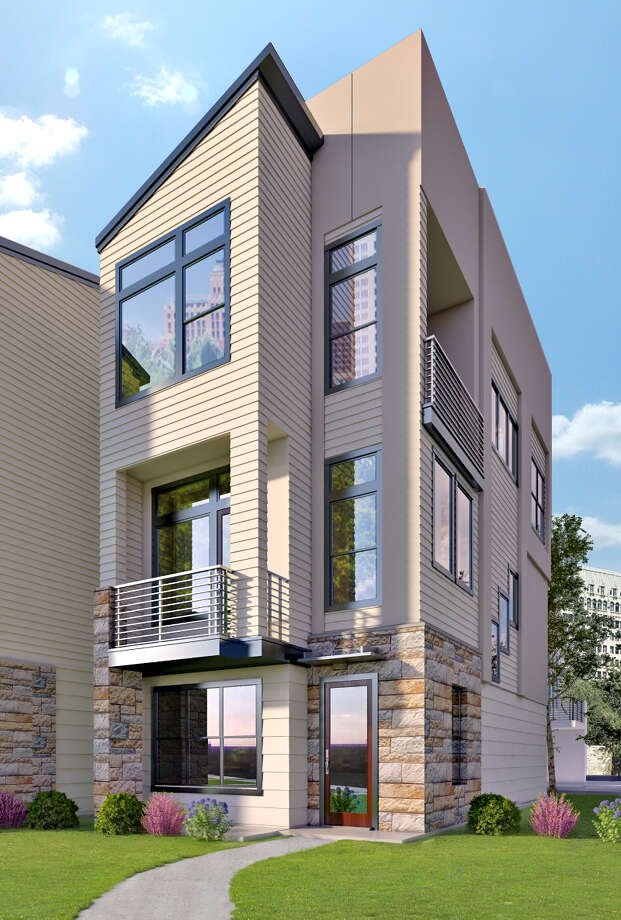 Houston developer David Weekley Homes has been building in San Antonio's suburbs for more than 20 years, but now it's also venturing into the urban core. Photo: Illustration Courtesy Of David Weekley Homes