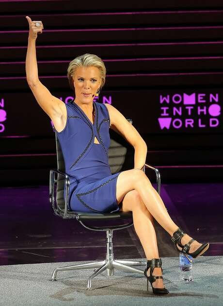 Megyn Kelly speaks onstage at Tina Brown's Women in the World Summit opening night. Photo: Jemal Countess, Getty Images