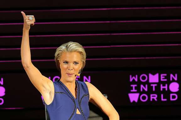 NEW YORK, NEW YORK - APRIL 06:  Megyn Kelly speaks onstage at Tina Brown's 7th Annual Women In The World Summit Opening Night at David H. Koch Theater at Lincoln Center on April 6, 2016 in New York City.  (Photo by Jemal Countess/Getty Images)