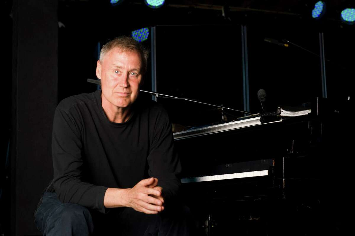 Grammy winner Bruce Hornsby entertains at the Edgerton Center for the Performing Arts, at Sacred Heart University, on Saturday, April 23.