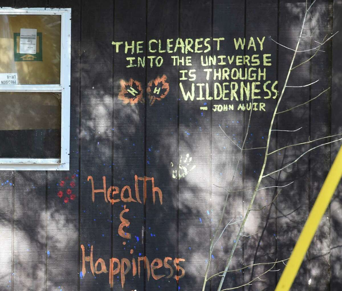 A beautiful quote is emblazoned on the wall of a building at the Double H Ranch Friday April 15, 2016 in Lake Luzerne, N.Y. (Skip Dickstein/Times Union)