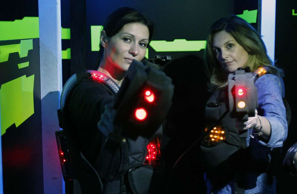 Laser tag: Q-Zar in Concord or Zone Laser Tag in Dublin