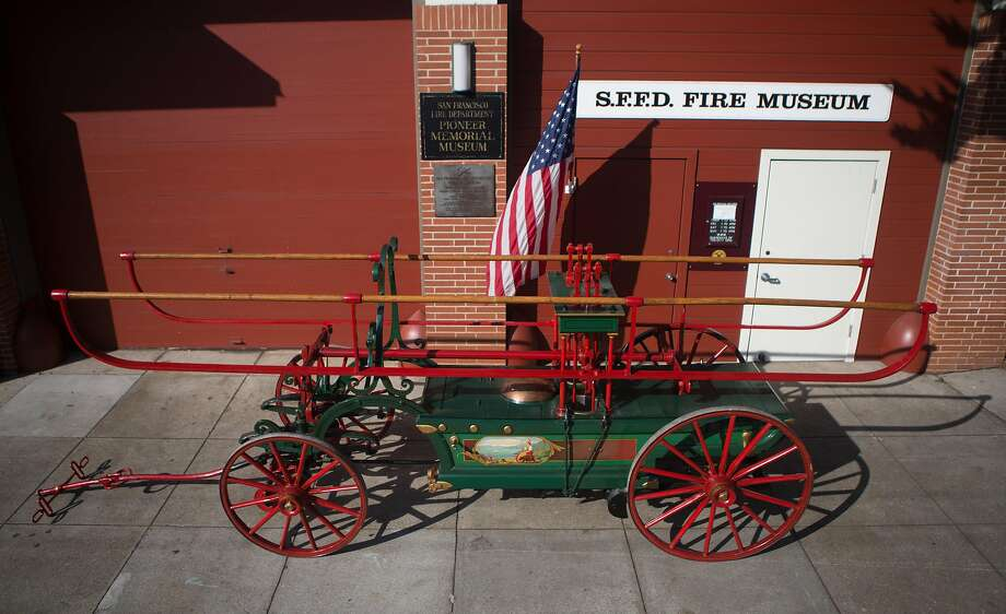 San Francisco Fire Department Museum sees the return of the city's first ever fire engine built in 1855.  Photographed on Wednesday, Oct. 7, 2015 in San Francisco, Calif. Photo: Nathaniel Y. Downes, The Chronicle