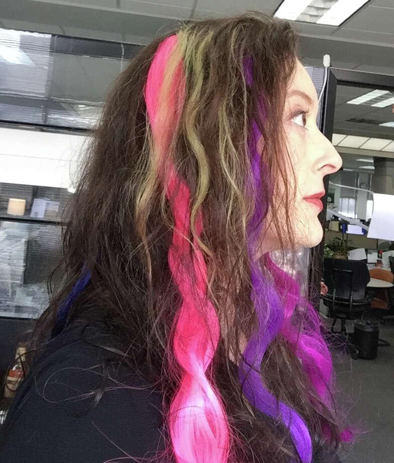 Bye Bye Hair Chalk My New Love Is Extensions San Antonio Express News