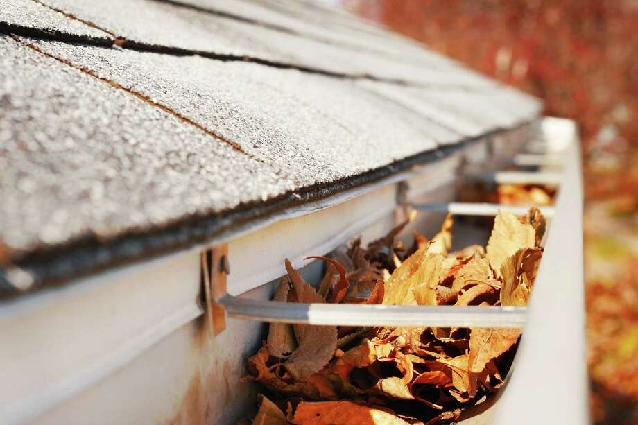 Spring weather brings an opportunity to take care of those spring-cleaning chores, such as removing leaves from the gutters.