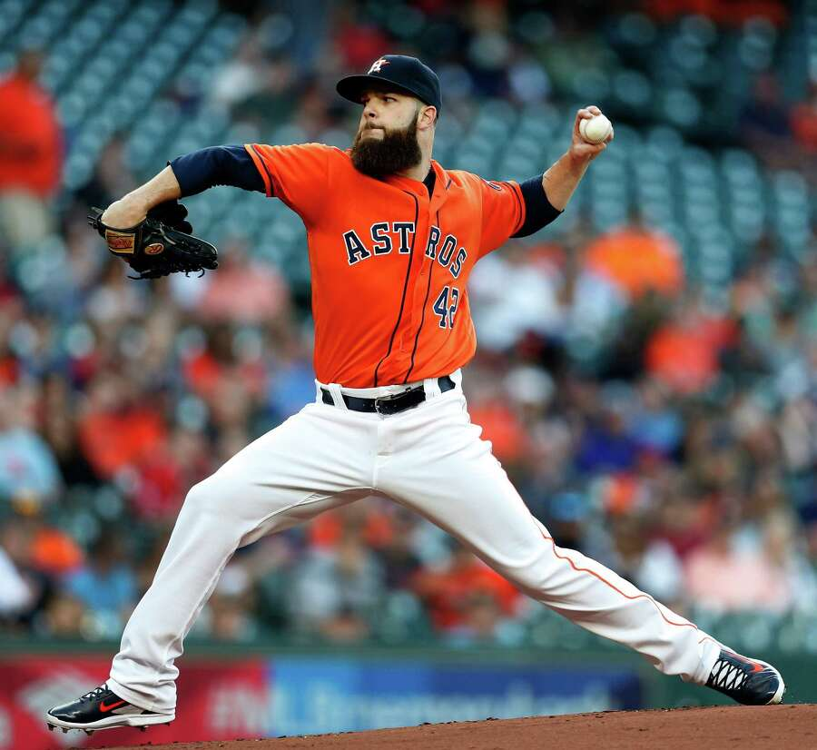 Dallas Keuchel Last season's American League Cy Young Award winner is the bona fide ace in a starting rotation that already has shown the inability to string multiple quality outings together. Keuchel hasn't lost a start at Minute Maid Park since Aug. 20, 2014, and tossed eight shutout innings Friday to beat the Tigers.  Photo: Karen Warren, Houston Chronicle / © 2016 Houston Chronicle