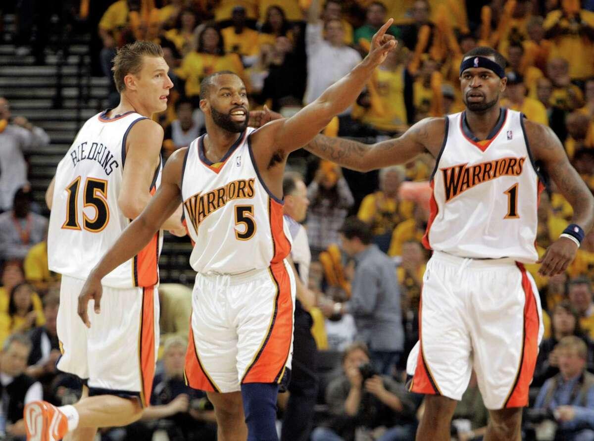 2007 No. 8 seed: Golden State Warriors No. 1 seed: Dallas Mavericks Series: 4-2