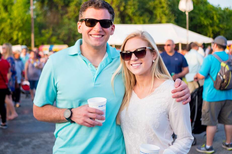 Food and music was the order of the evening Friday, April 15, 2016, in San Antonio's central suburb Alamo Heights for Fiesta's 29th Annual Alamo Heights Night. All the usual suspects abounded, from funnel cakes and turkey legs to sausage on a stick and gorditas. 