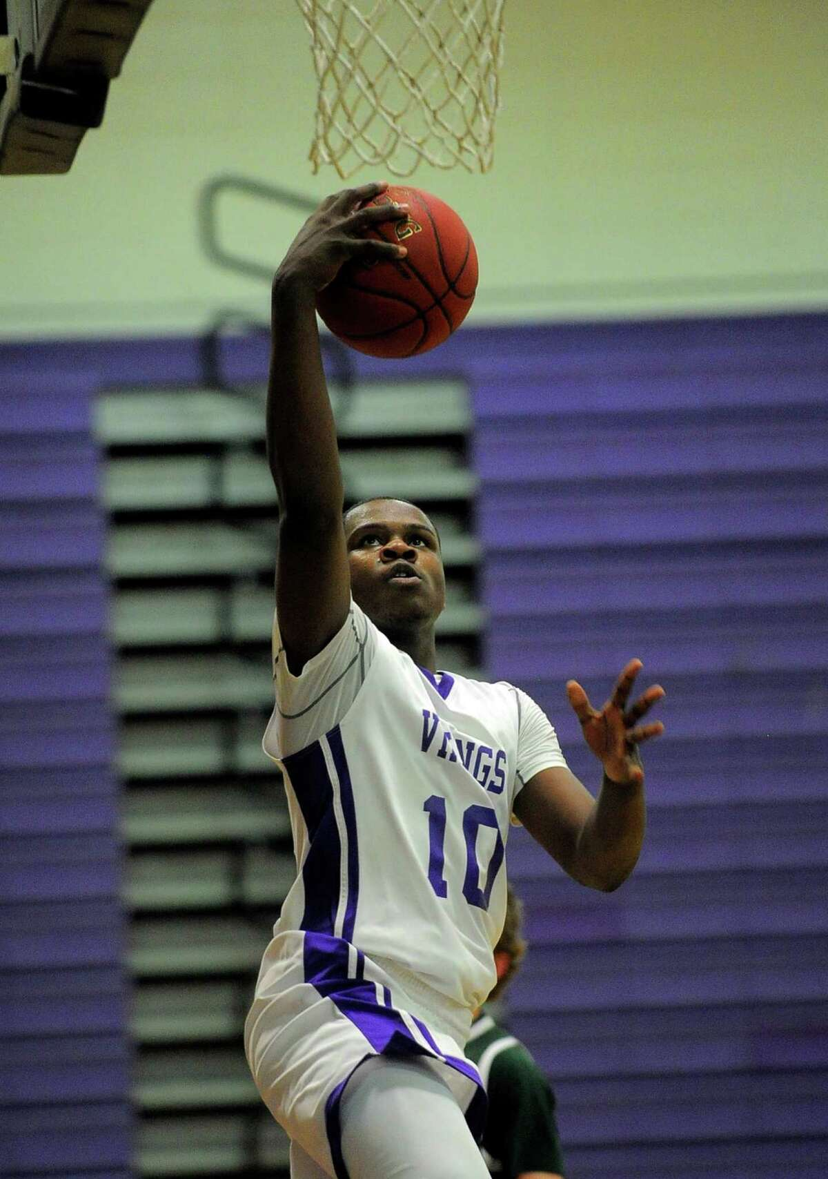 Westhill forward Tyrell Alexander led the Vikings to the FCIAC league championship.