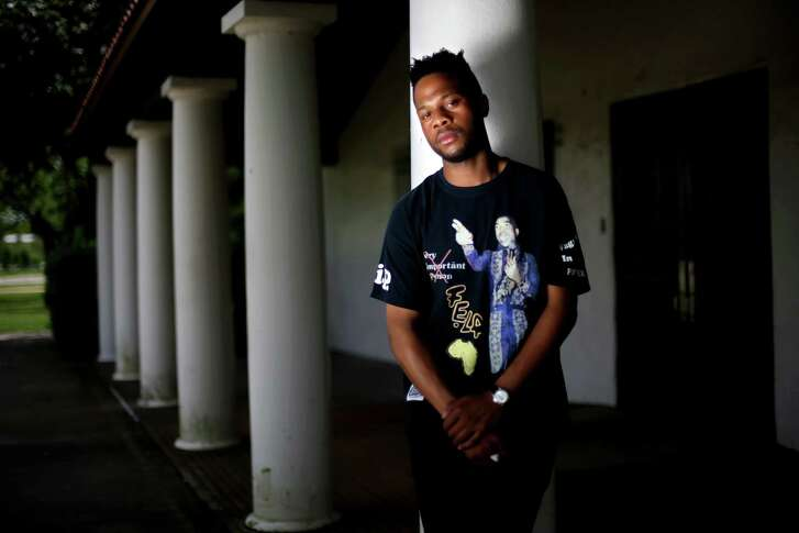 """Third Ward native  Tony Obi, a rapper who performs as Fat Tony, pays homage to MacGregor Park, which he calls """"the sweetest park,"""" in a song released last year."""