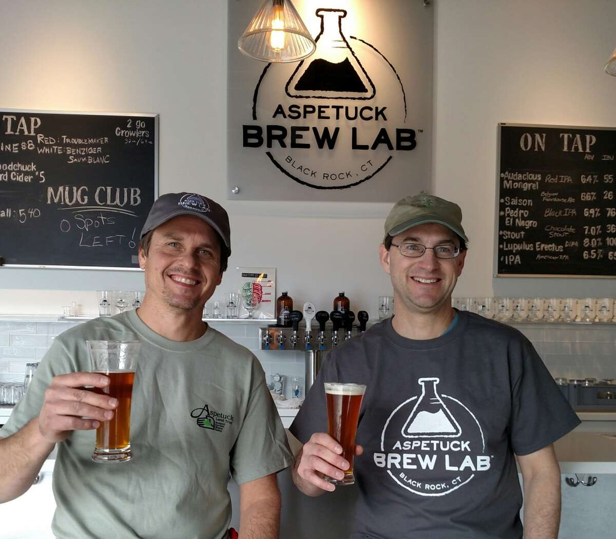 Newly opened Aspetuck Brew Lab, located in Bridgeport, is partnering with the Aspetuck Land Trust in recognition of Earth Day on Friday they'll donate $1 for every pint sold and $2 for every 64oz growler sold to the trust. Find out more.