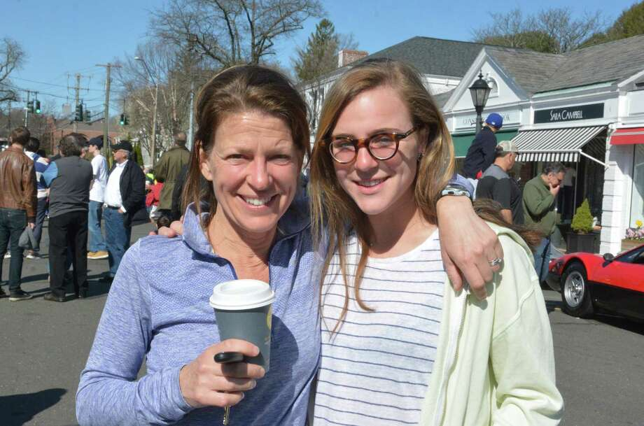 Were you SEEN at Caffeine and Carburetors in New Canaan on April 17, 2016? Photo: Vic Eng / Stamford Advocate
