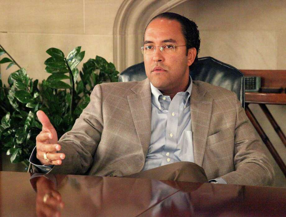 "U.S. Rep. Will Hurd, R-Helo- tes, says terror- ism is having ""a significant im- pact"" on Latinos. Photo: Juanito M. Garza / San Antonio Express-News / San Antonio Express-News"