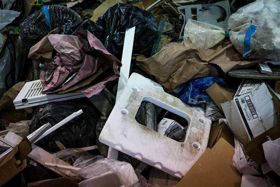 Styrofoam fills the waste stream in San Francisco. Photo: Gabrielle Lurie, Special To The Chronicle