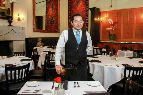 Cecilio Cabrera, a server at Ouisie's Table. (For the Chronicle/Gary Fountain, April 8, 2016)