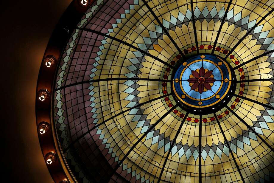 The large glass dome at Petaluma Historical Library & Museum in Petaluma. Photo: Preston Gannaway, GRAIN/Special To The Chronicle