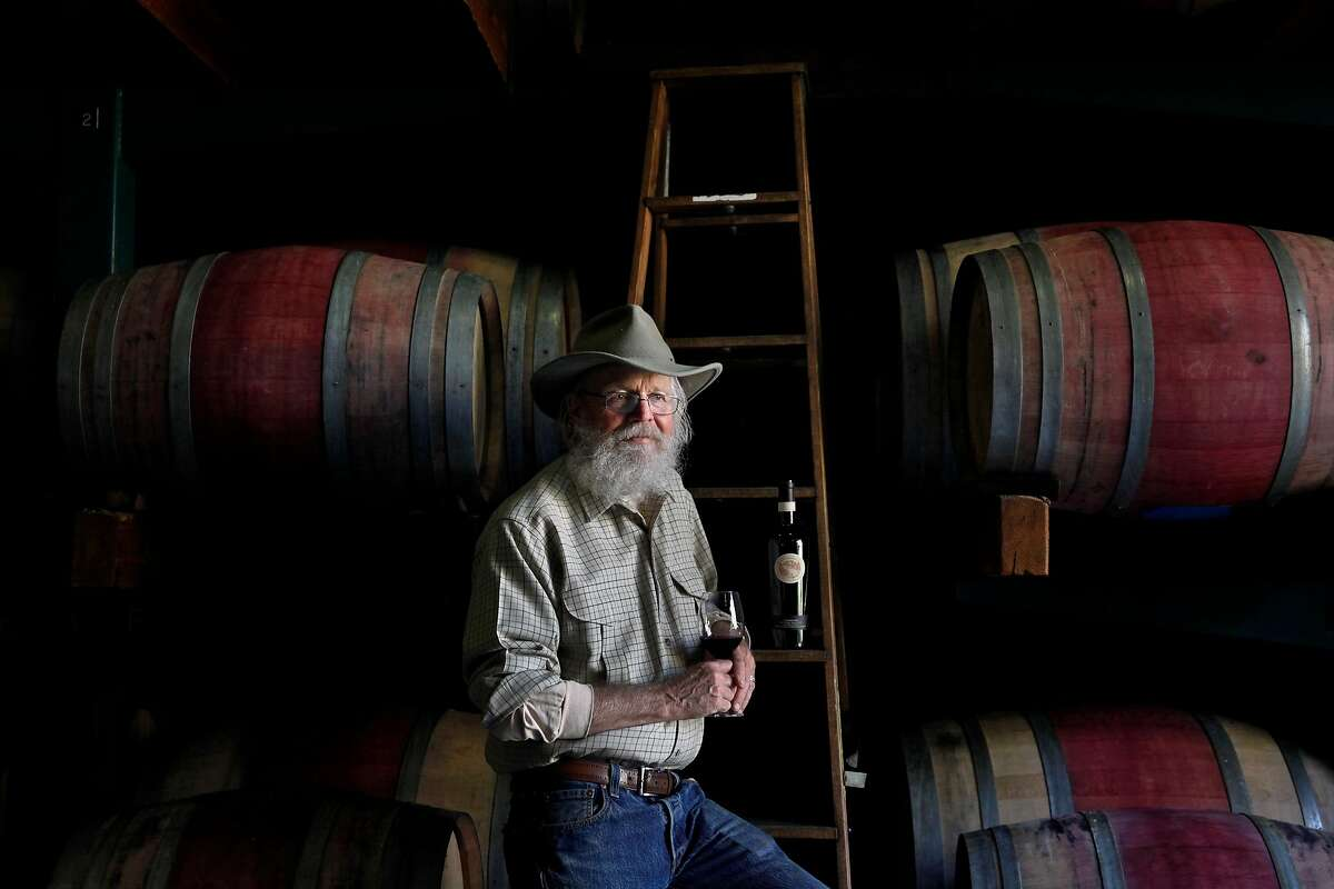 Lou Preston has evolved his wine operation into biodiverse farm at Preston Vineyards in Healdsburg, Calif., seen on Monday, April 4, 2016. He started four decades ago and was a pioneer grape grower in Dry Creek Valley and the farm-to-table movement.