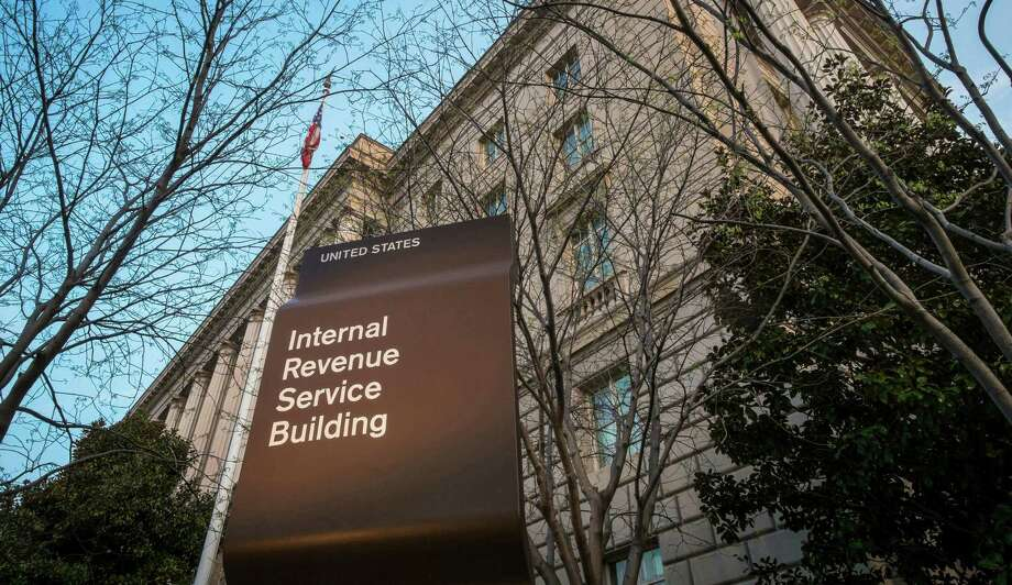 The Internal Revenue Service (IRS) headquarters building in Washington. (AP Photo/J. David Ake, File)  Photo: J. David Ake / AP