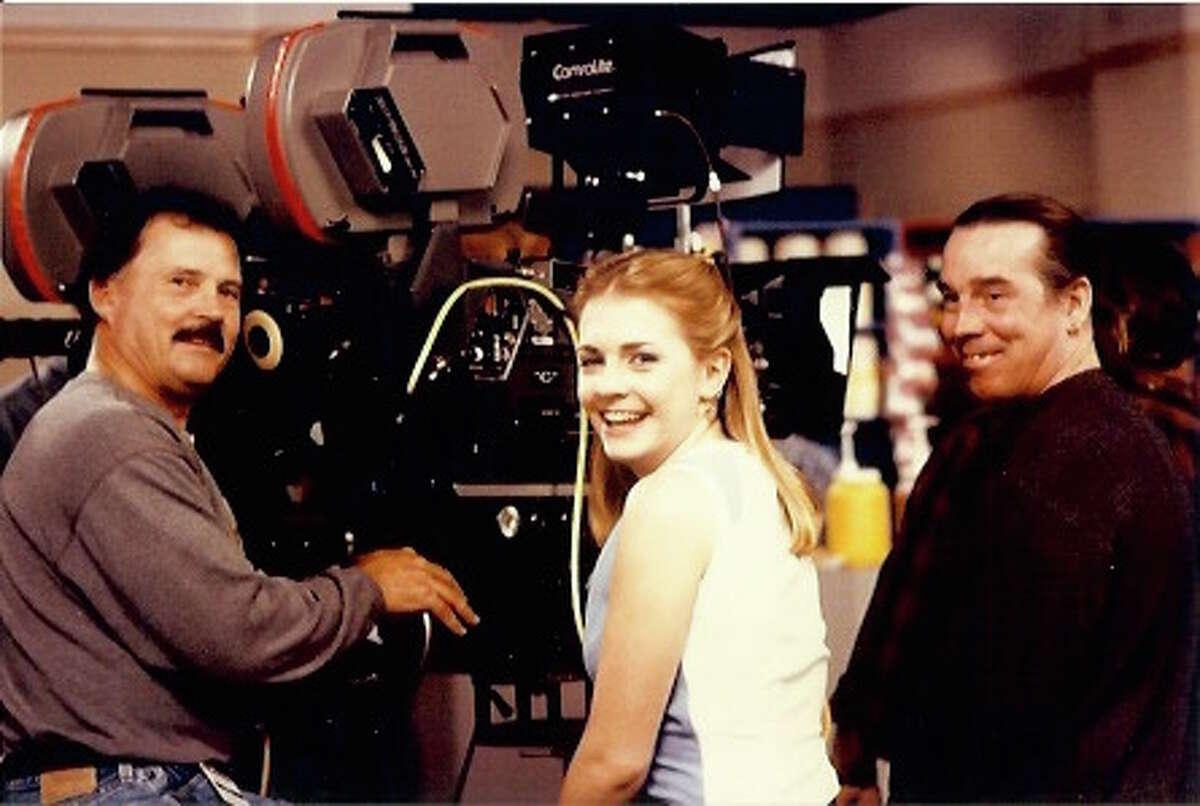Melissa Joan Hart on set in 1996.