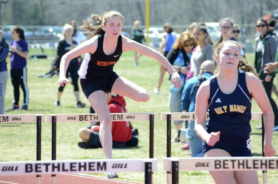 Were you Seen at the Lady Eagles Invitational Track Meet at Bethlehem Central High School on Saturday, April 16, 2016? Photo: Dwight Cheu