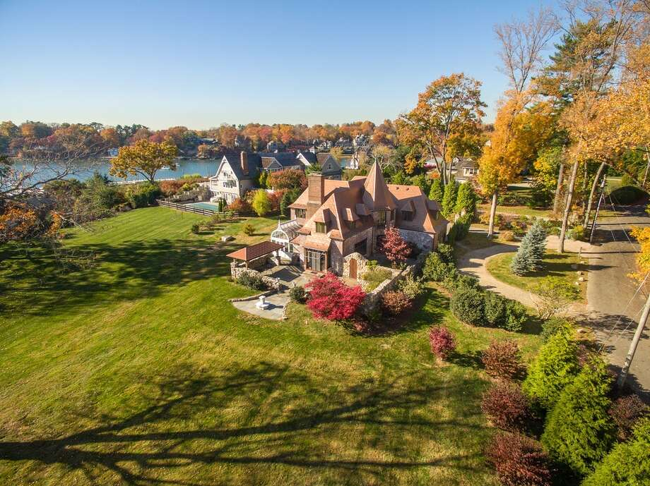 16 Point Rd, Norwalk, CT 068545 beds 4 baths 2,798 sqftFeatures: Wet bar, stone patio with covered dining area and water fountain, private beach, tennis courts, dockView full listing on Zillow Photo: Zillow