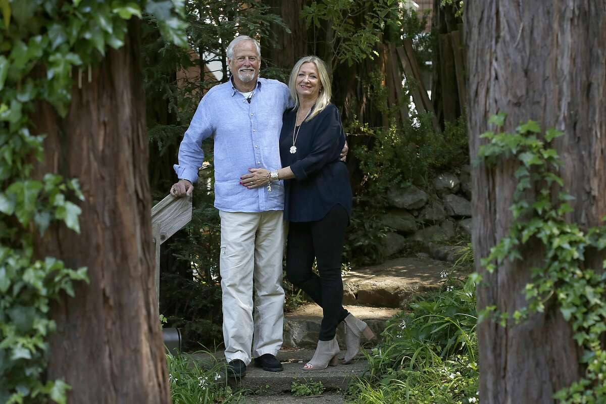Bouvier Beale and his wife Eva Beale at home in Mill Valley, California on friday, april 15, 2016.