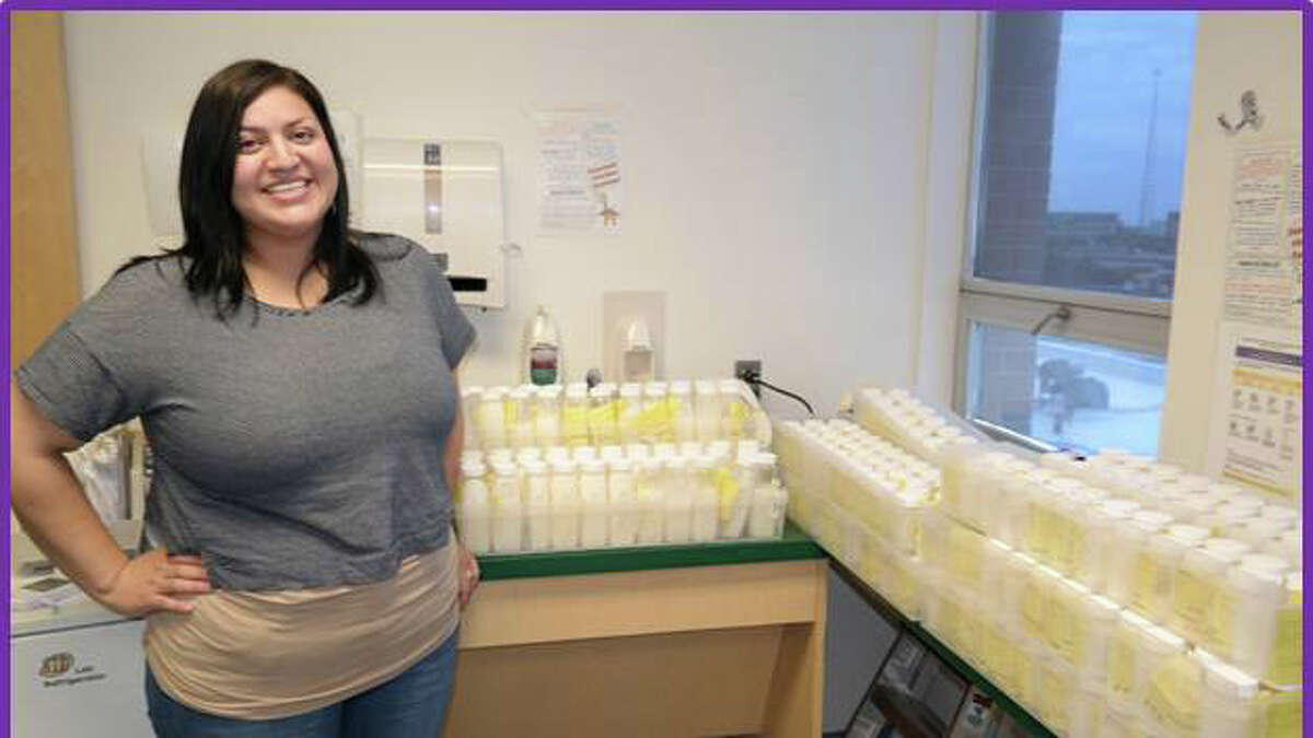 Mikah Duncan donated more than 15 gallons of breast milk to an Austin milk bank following her son's birth.