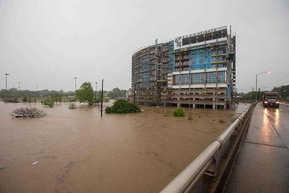 Photography Andy Hemingway took these photos during a walk along several of Houston freeways April 18, 2016. The freeways were virtually empty due to severe flooding caused by historic storms overnight. Photo: Andy Hemingway | Hemingway Photography