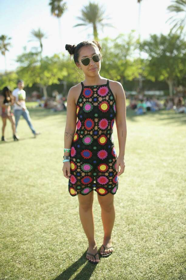 If you were planning to wear this dress to Coachella this weekend, you may want to reconsider. We counted five so far, and those were just the ones that were photographed on weekend one.Keep clicking to see the other four matching ladies, plus more of the most popular Coachella trends this year. Photo: Mike Windle, Getty Images / 2016 Getty Images