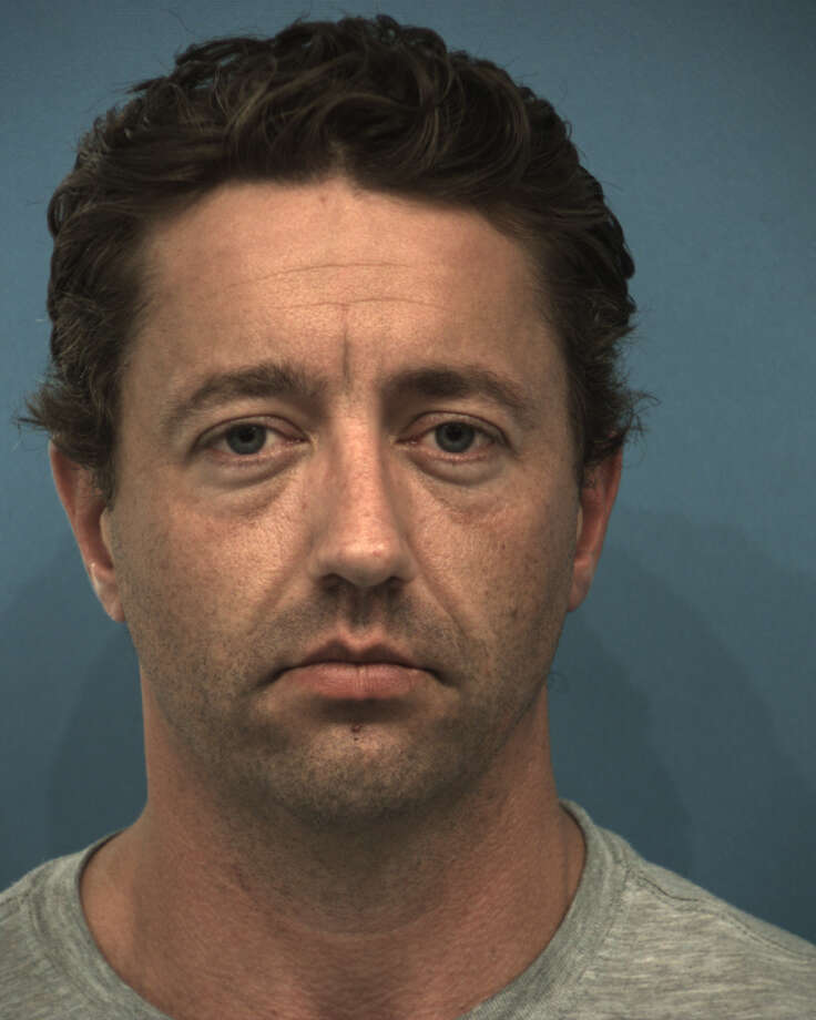Shane Alan Myers, a 37-year-old officer for the Round Rock Police Department, has been charged with assault by strangulation - family violence for allegedly choking his wife until she passed out, court records show. Photo: Williamson County Jail