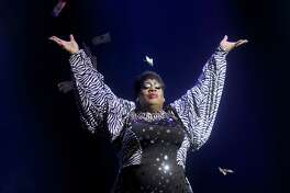 Latrice Royale onstage at the Divas of Drag Show at the House of Blues Sunday April 17,2016(Dave Rossman Photo)