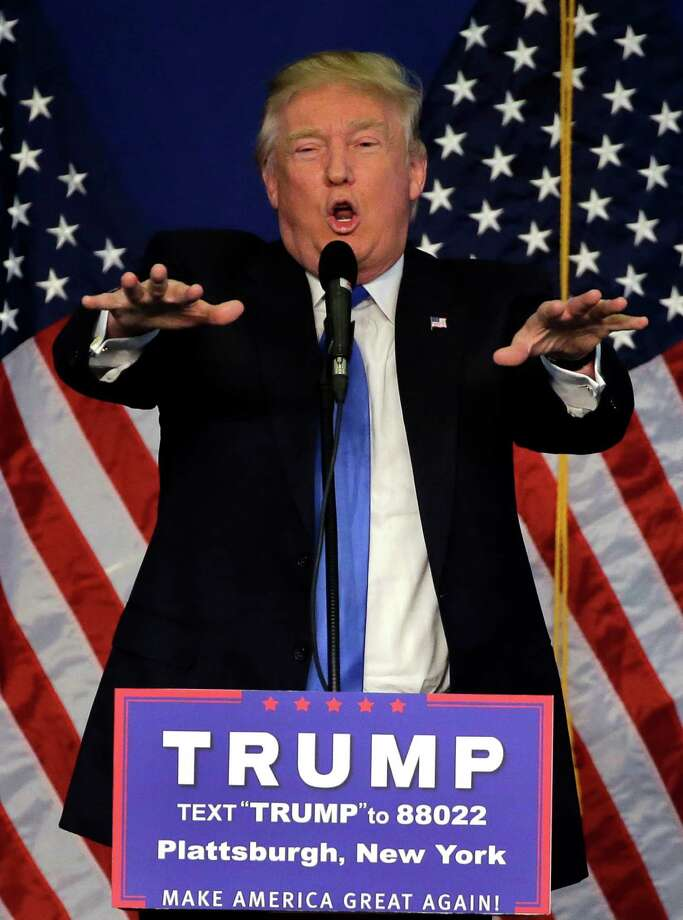 """Republican presidential hopeful Donald Trump failed to invest much in a ground game and has taken little interest until recently in how the delegate system works. Trump now indicts both a """"totally unfair"""" system and """"Lyin' Ted"""" himself. Photo: Elise Amendola /Associated Press / AP"""