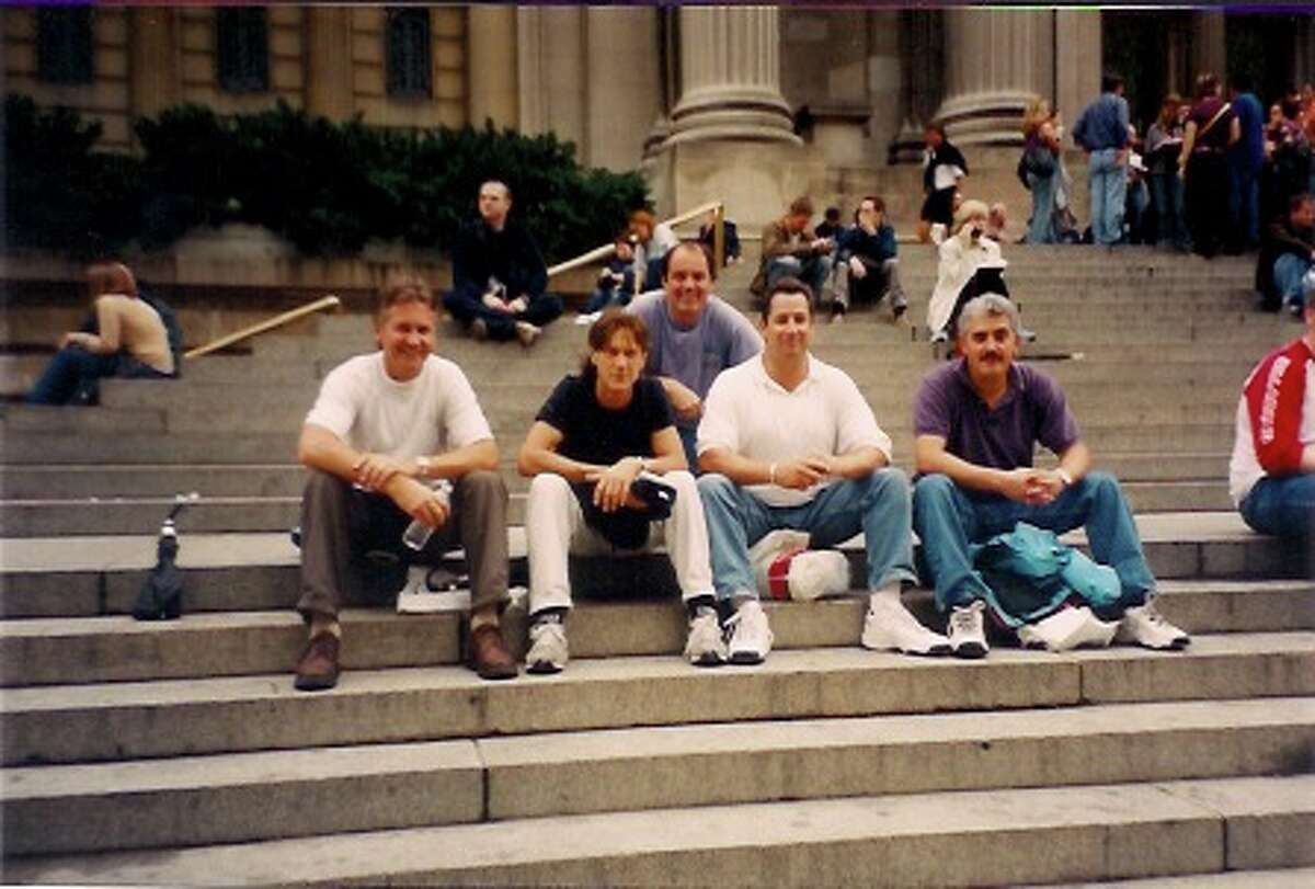 Some of the Waldos visiting the Met museum.