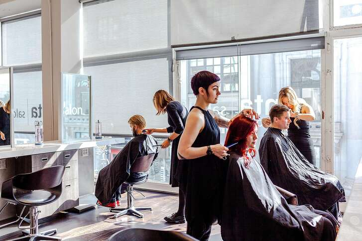 """Cinta Salon holds """"model days"""" with $15 haircuts on Mondays and $25 color treatments Wednesday, from 10 a.m.-2 p.m. at its Grant Avenue space."""
