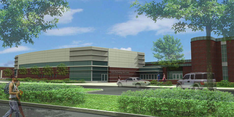 A rendering of the exterior of Greenwich High School's new music classrooms, which are scheduled to be completed by the start of the 2016-17 school year. Photo: Contributed Photo