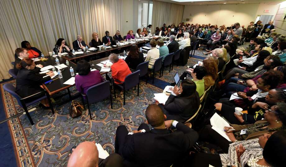 The Board of Regents meets at the Education Building Monday April 18, 2016 in Albany, N.Y.     (Skip Dickstein/Times Union) Photo: SKIP DICKSTEIN / 10036235A