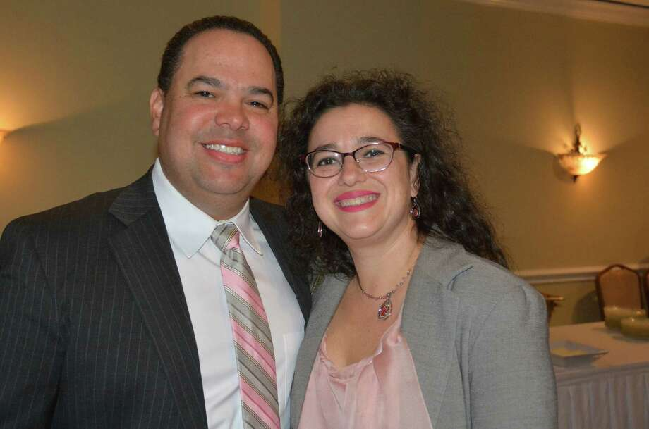 Stamford Citizens of the Year Jay Sandak and Mary Sommer were honored at the annual dinner on April 18, 2016. Were you SEEN? Photo: Vic Eng / Stamford Advocate